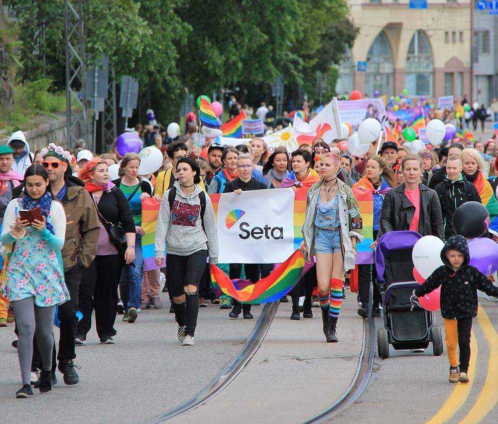 Pride-tapahtumia järjestetään tänä vuonna lähes 20 eri puolilla Suomea. Priden tarkoituksena on julistaa moninaisuutta ja edistää sateenkaari-ihmisten ja ihmisoikeustilanteen näkyvyyttä.