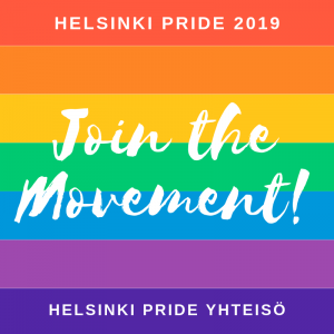 Join the Movement - Helsinki Pride