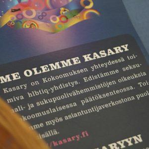 Kuvassa on Kasary ry:n julkaisu.