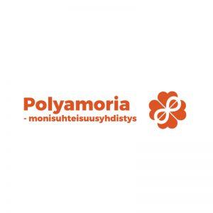 Kuvassa on Polyamoria – Monisuhteisuusyhdistys ry:n tunnus.