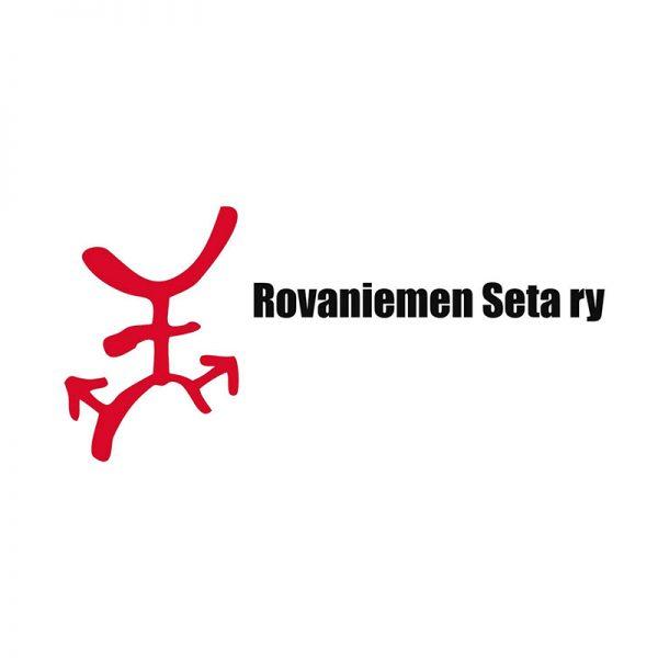 Kuvassa on Rovaniemen Setan tunnus.