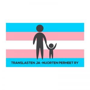 Kuvassa on Translasten- ja nuorten perheet ry:n tunnus.