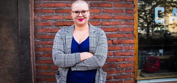 """Melissa Mäntylä intersukupuoliselta toisille: """"Yhteiskunnassa on vikaa, mutta teissä ei ole"""""""