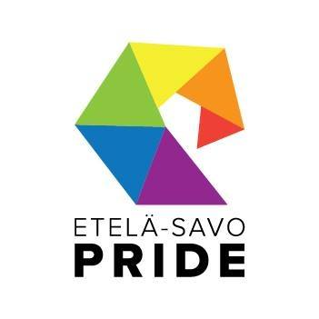 Kuvassa on Etelä-Savo Pride ry:n tunnus.