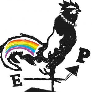 Kuvassa on Oulu Priden tunnus