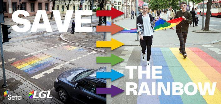 Solidaarisuuskeruu Vilnan sateenkaarisuojatien korjaamiseksi