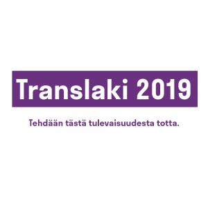 Translaki2019 -kampanjan tunnus
