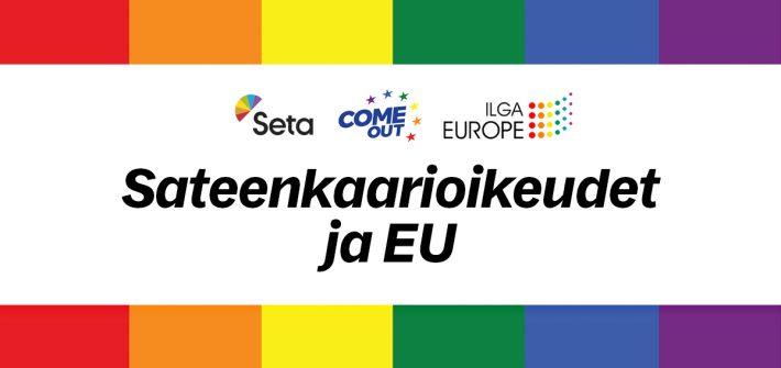 Setan eurovaalipaneeli: Sateenkaarioikeudet EU:ssa