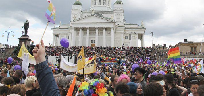 Suomi 4. sijalla eurooppalaisessa lhbti-oikeuksien vertailussa